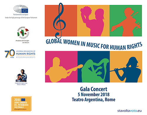Gala Concert global women in music for human rights